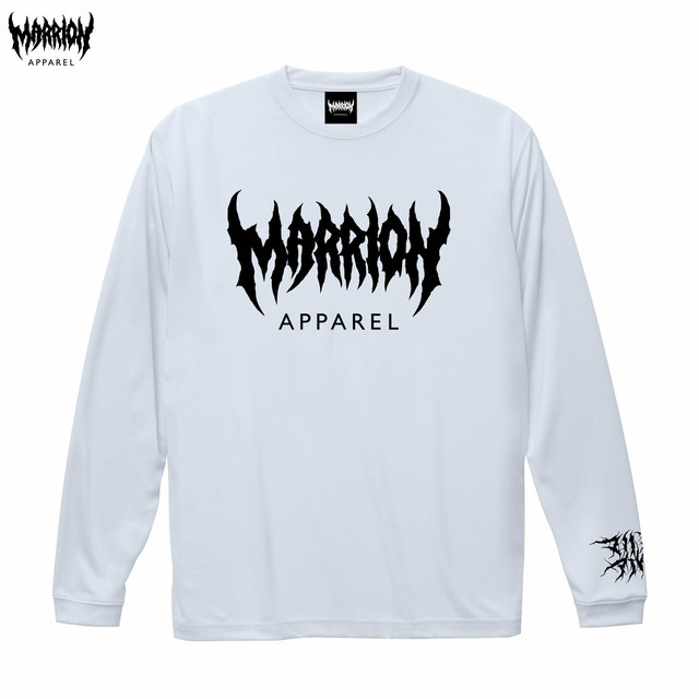 MARRION APPAREL DRY LONGSLEEVE (White)