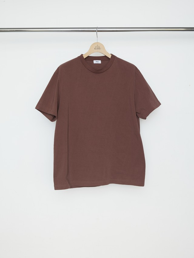Allege STANDARD TEE Brown AL21S-CT03