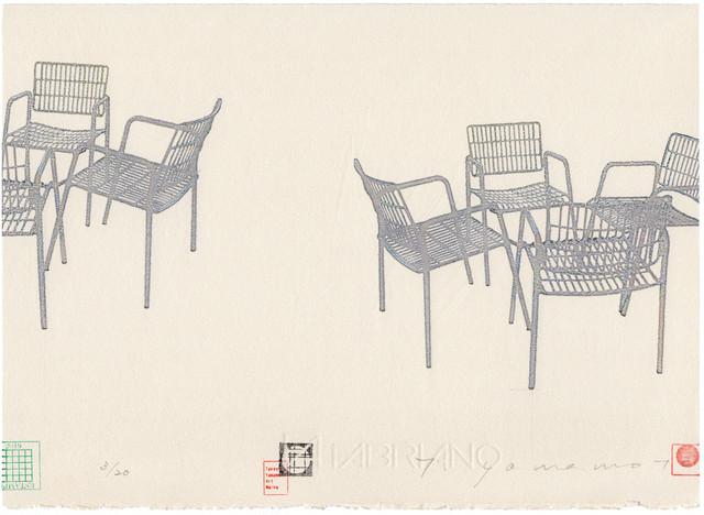山本剛史 YAMAMOTO Takeshi 'CHAIR2019 chairs Ⅲ'