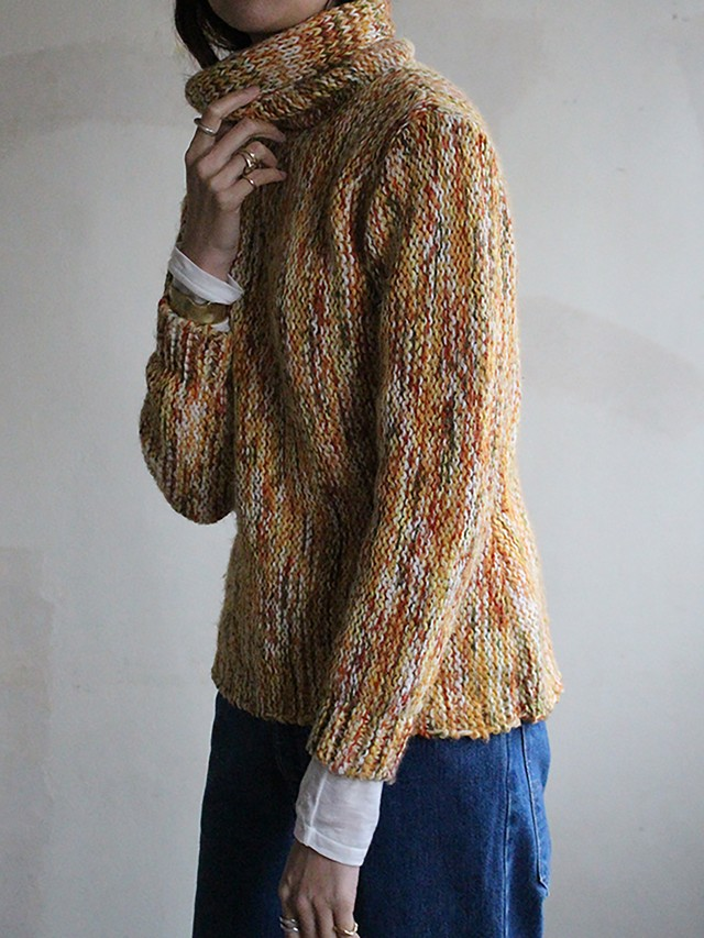 60s Hand made  knit