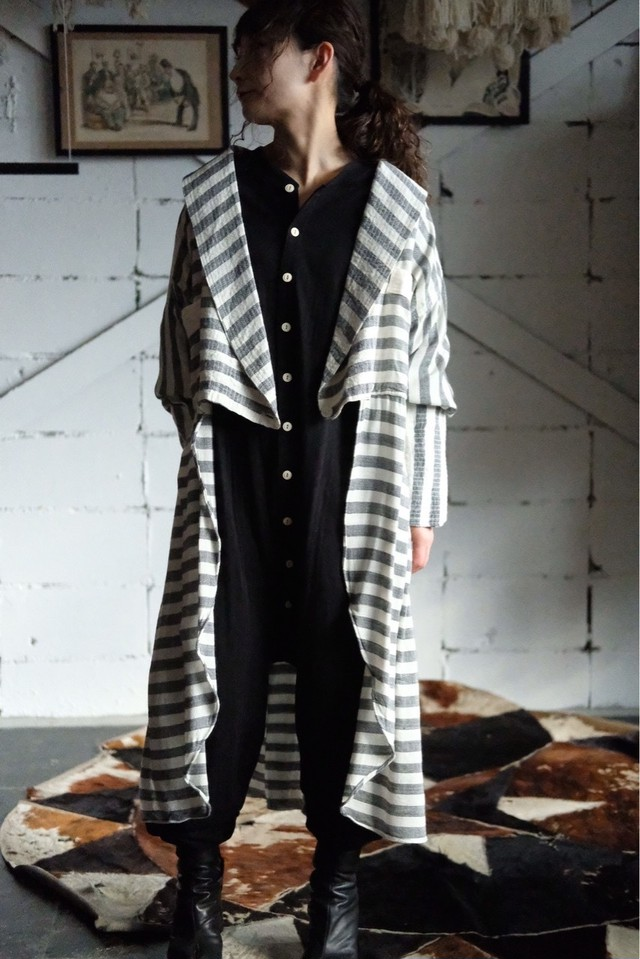 Moroccan cotton shirts coat