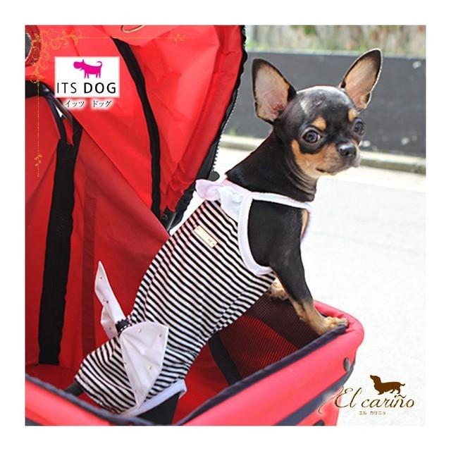 10。ITSDOG【正規輸入】犬 服 水着 袖なし ブルー イエロー UV遮断 夏物