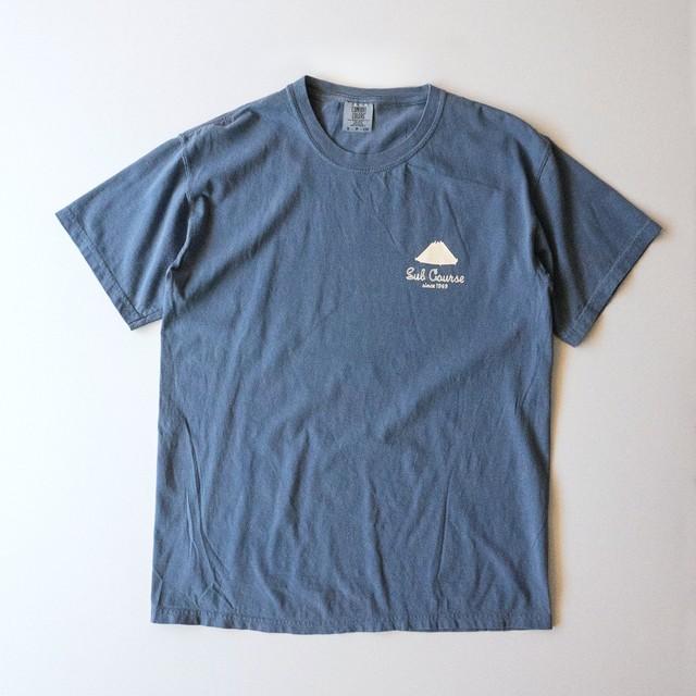 ガーメントダイTシャツ ブルージーン(T00010-02)