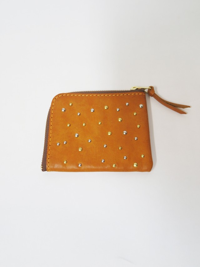L-shaped wallet(small mix Yellow)
