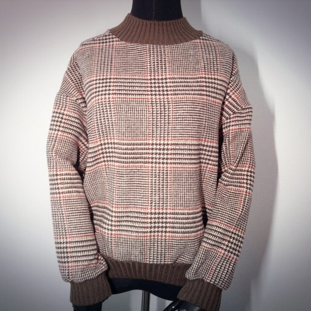 Checked Knit