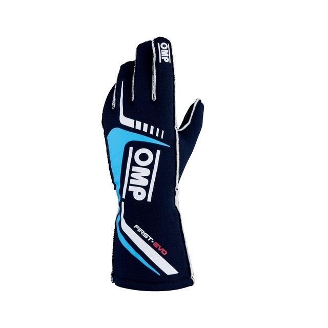 IB/767/BC FIRST EVO GLOVES MY2020 Blue / cyan