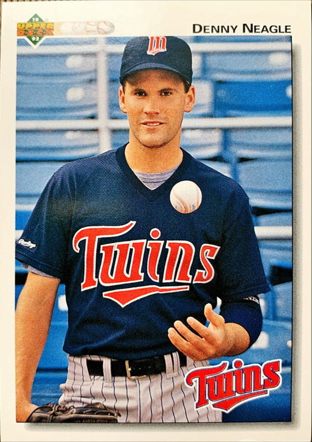 MLBカード 92UPPERDECK Denny Neagle #426 TWINS