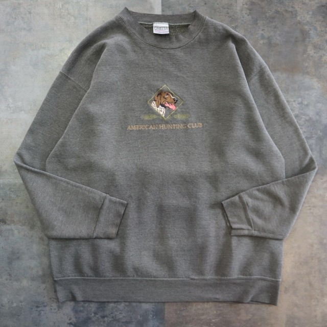 dog embroidery big sweat