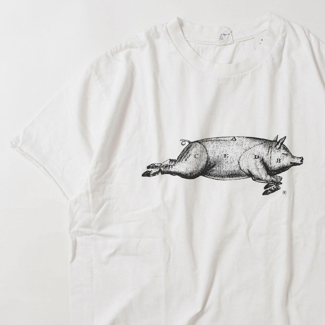 【Lサイズ】 BOAR RUNNING TEE WHITE L 400601190906