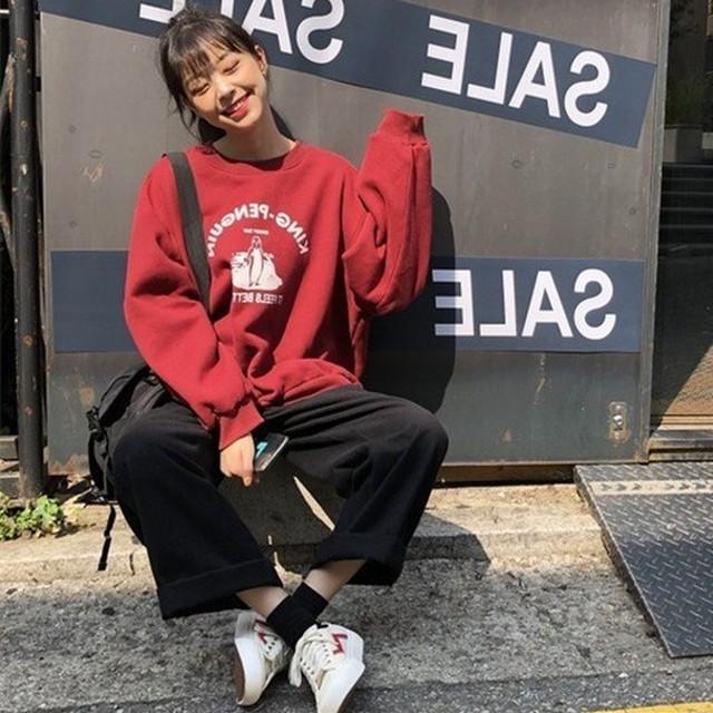 【トップス】韓国系ファッションストリートパーカー34366364