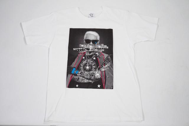 【StarLean】フォトプリントTシャツ【ホワイト】