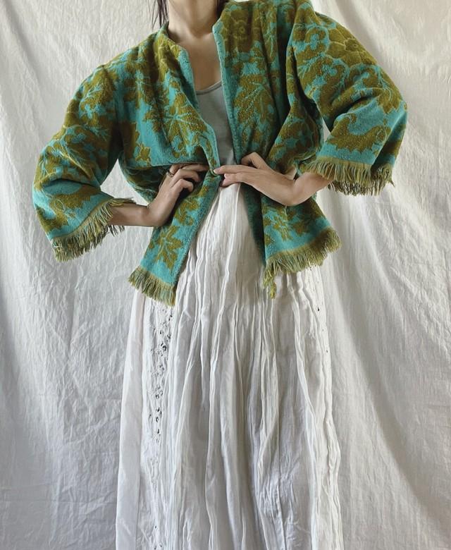 Flower pattern jacket