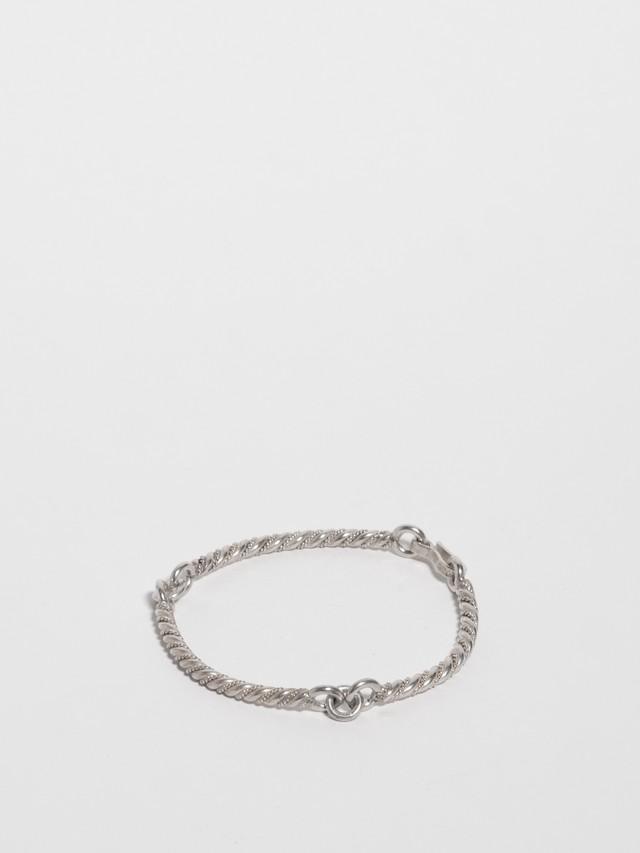 Twisted Bar Bracelet / Mexico