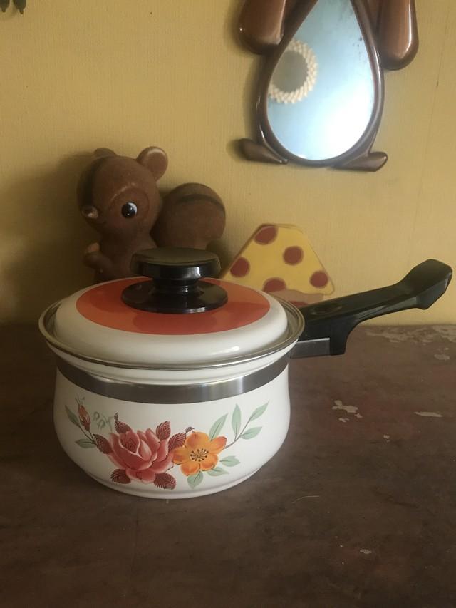 レトロ 小さな片手鍋