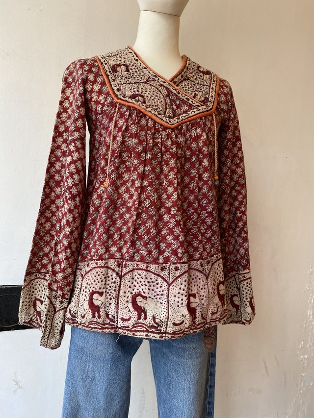 vintage Indian cotton tunic [1111]