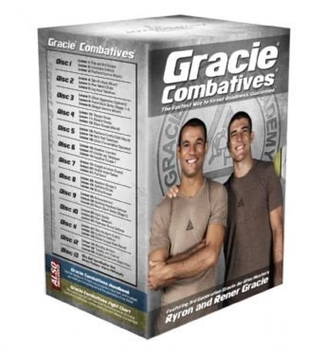 Gracie Combatives® DVD Collection 教則DVD全13巻セット スタンダードパッケージ|グレイシーアカデミー|グレイシー柔術