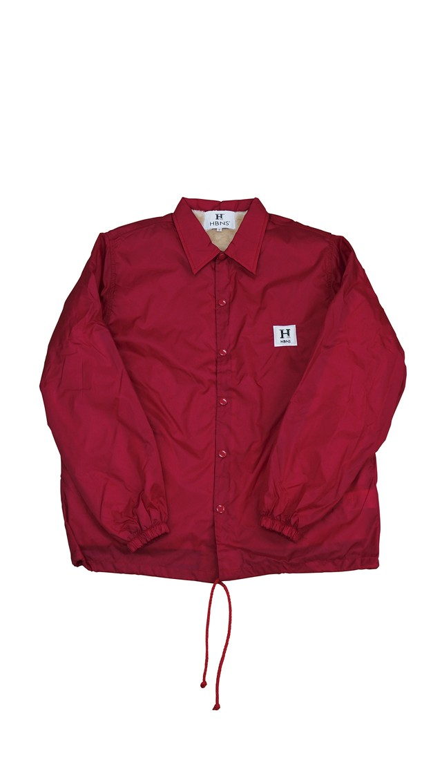 SOUVENIR COACH JACKET (BURGUNDY)