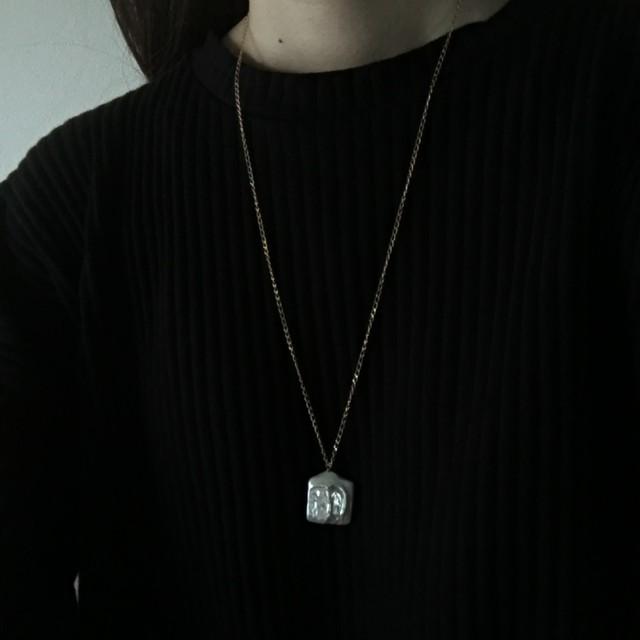 keshi pearl  long necklace