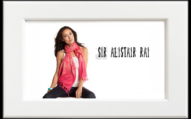 Sir Alistair Rai/サー・アリステア・レイ Om Mantra Love スカーフ