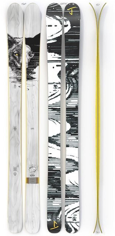 【予約】J skis - マスターブラスター「グリッチ」ポール・ジャクソン x Jコラボ限定版スキー