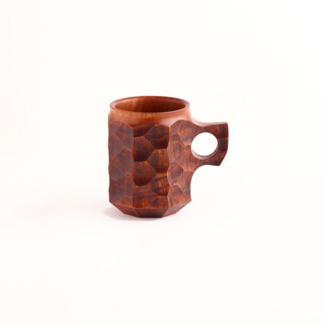 盛永省治/Wood Vase