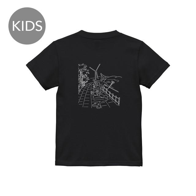ヘルメス 半袖 黒 KIDS