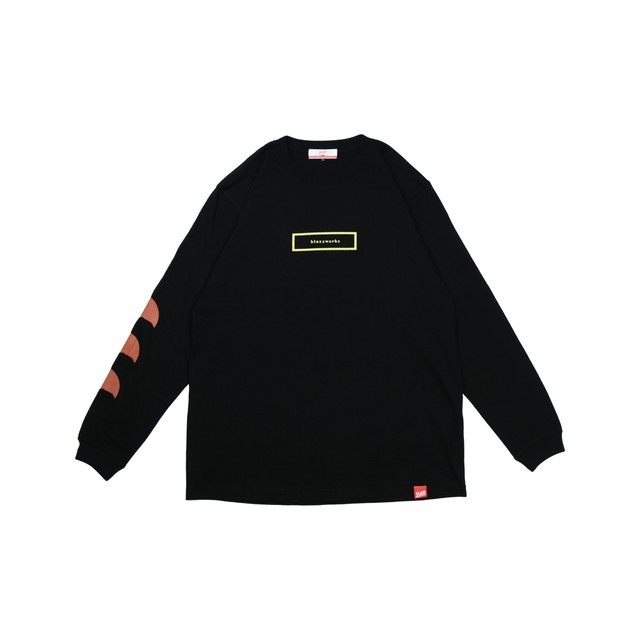 2012-Fu-ji-Blazz L/S TEE [BLACK]