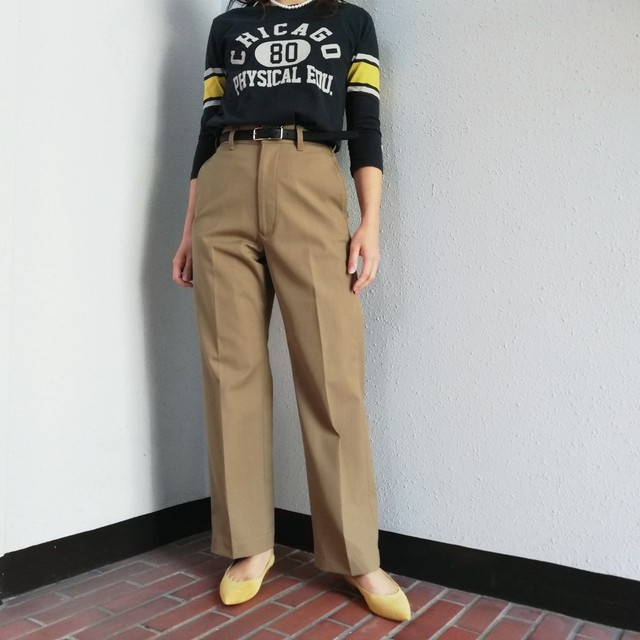 ≪再入荷≫THE SHINZONE (HIGH WAIST CHINO PANTS)