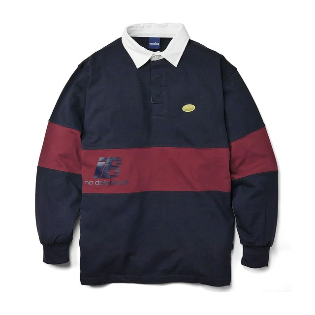 INTERBREED Rebellion Rugby Shirt NAVY