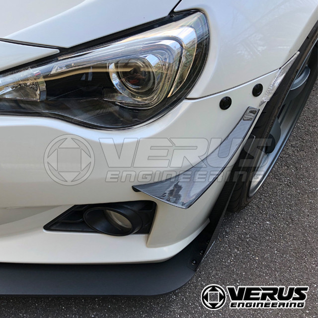 VERUS ENGINEERING(VELOX)A0016A+A0017A:TOYOTA 86/SUBARU BRZ リアサスペンション・デフカバー:左右セット