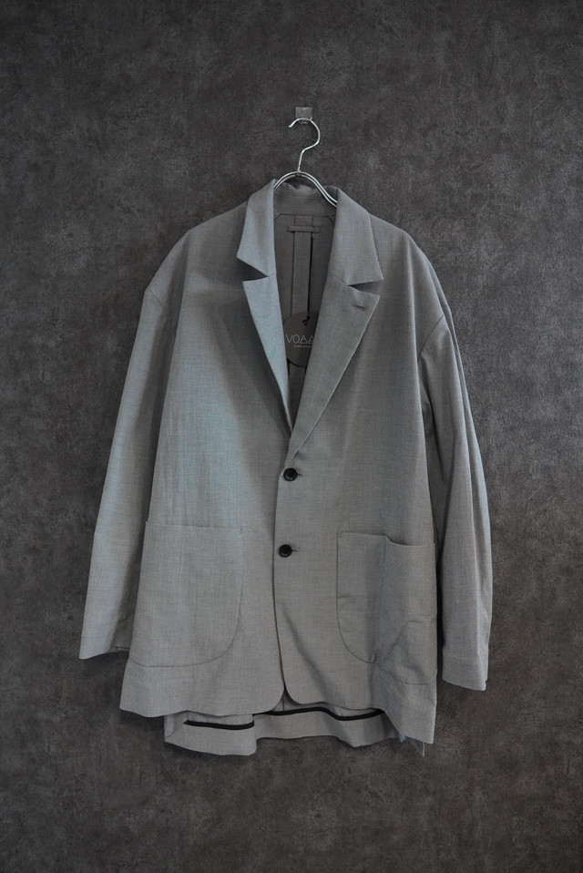 【 limited2 winter price 20%off】VOAAOV cottonpoly tailored jacket check