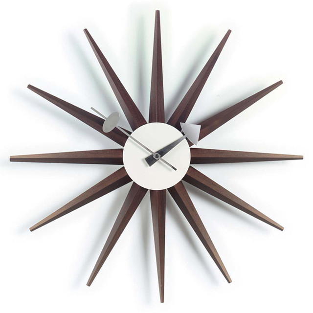 Vitra Sunburst Clock ウォールナット