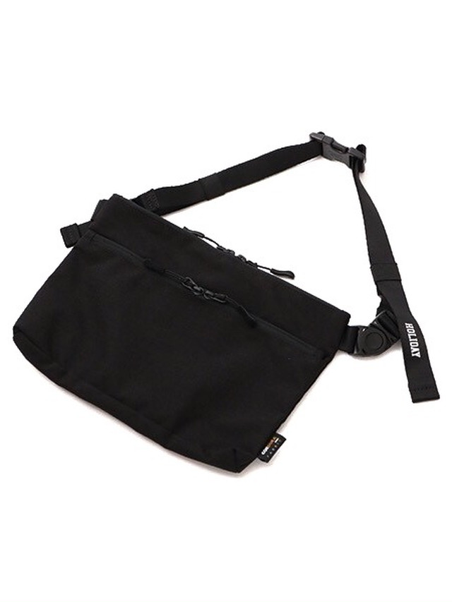 【HOLIDAY】HOLIDAY PACKABLE HIP BAG(HEAVY)