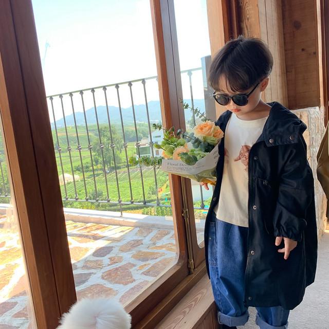 【即納】マウンテンパーカー トレンチ アウター AW 秋冬 韓国子供服