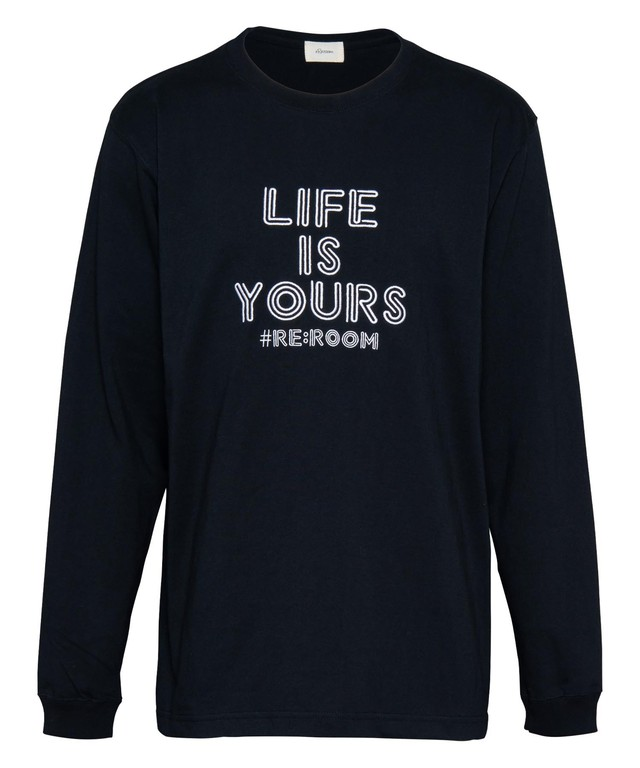 EMBROIDERY LIFE LONG SLEEVE[REC335]