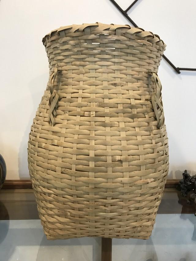 トラフ竹のステンレスざる 小 高知県工芸品 手仕事