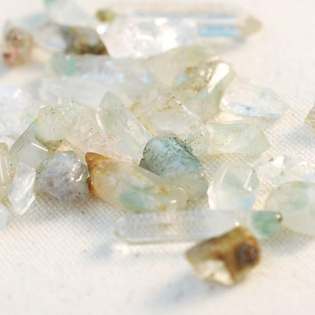 「petomoni x kayo」 Green phantom quartz(マダガスカル産グリーンファントムクォーツ)