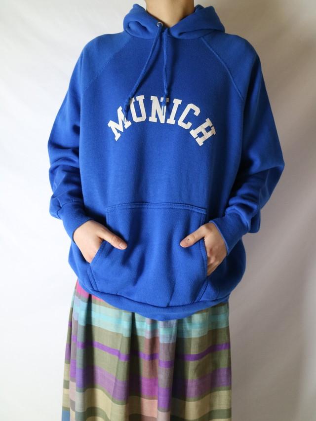 collage print hoodie【0735】