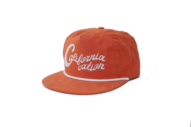 SURFSKATECAMP #Californiacation Cap Orange ¥6.300+tax