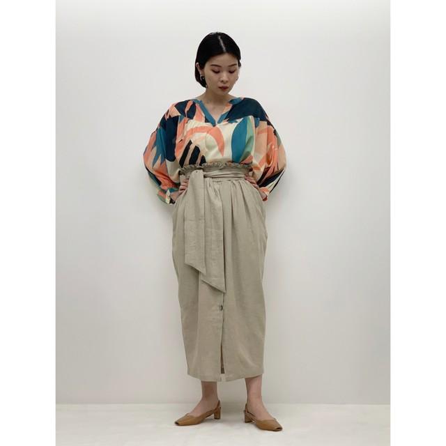 MANIC MONDAY・リネンタイスカート (1S65001E)
