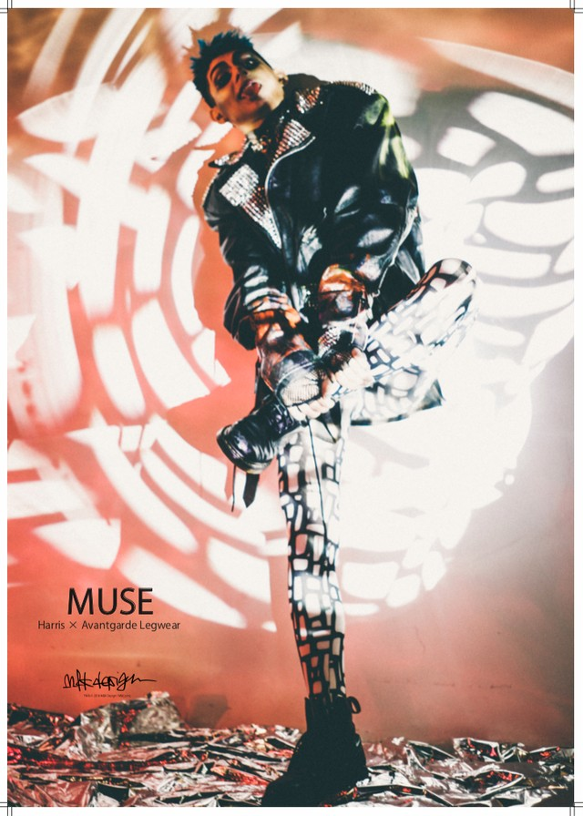MUSE / Harris × Avantgarde Legwear Vol.1 Photobook