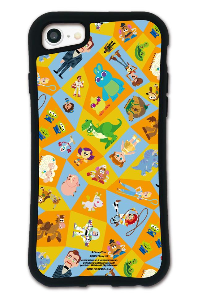 トイ・ストーリー パターン カラフル WAYLLY(ウェイリー) iPhone 8 7 XR XS X 6s 7 Plus XsMax対応!_MK_