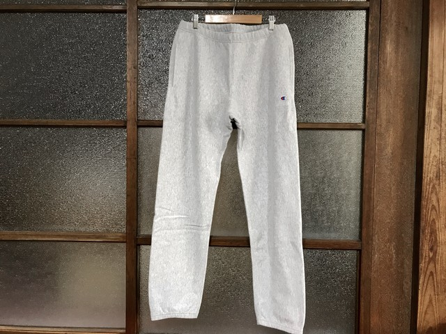 CHAMPION REVERSE WEAVE SWEAT PANTS (HEATHER GREY)