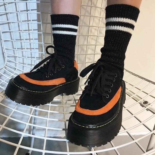 【1点のみ即納】orange line shoes