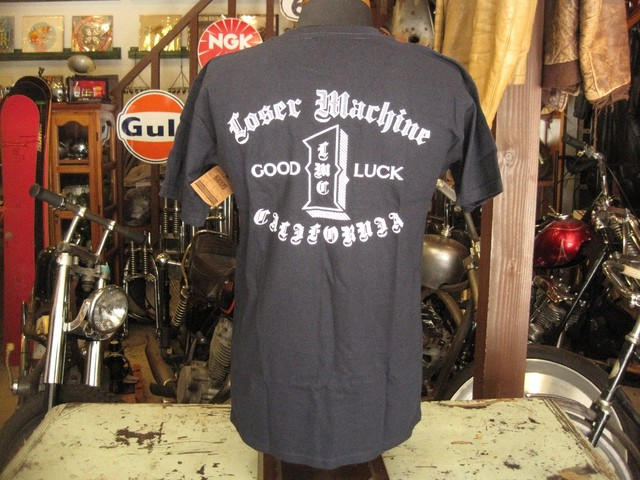 LOSER MACHINE Tee  FORTUNE / NAVY
