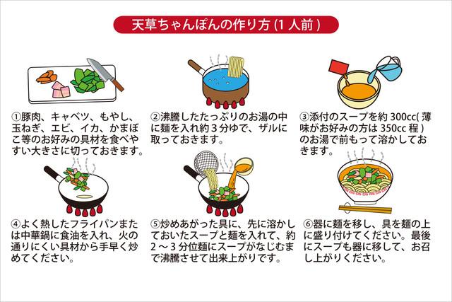 天草ちゃんぽん 1食