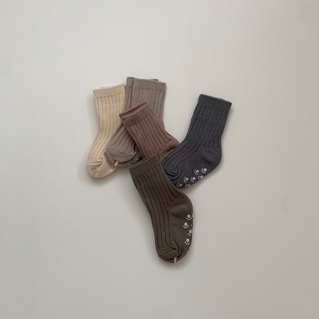 560. color socks / 5p