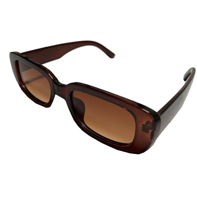 【Cat & Parfum】Square Leopard Sun Glasses