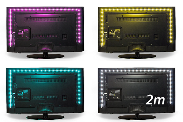 Luminoodle COLOR TV backlight(2.0m)