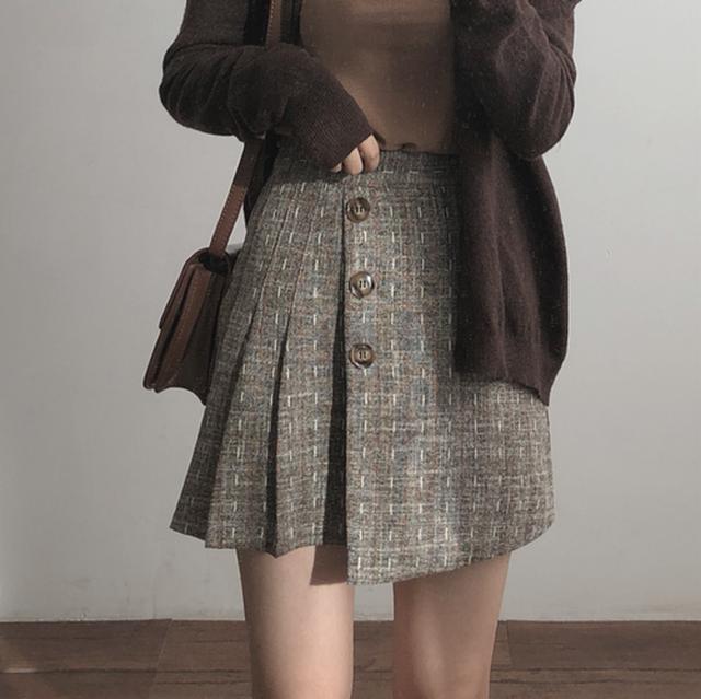 ヴィンテージプリーツスカート